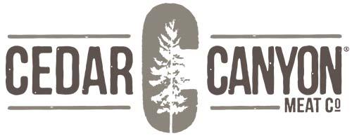 Cedar Canyon® Meat Company logo